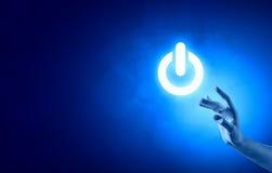 вектор силы иллюстрации формы eps 10 кнопок Стоковое Изображение