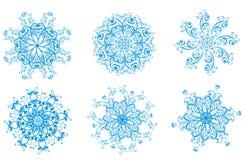вектор снежинки иллюстрации Стоковое фото RF