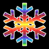 вектор снежинки Стоковые Изображения