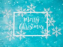 вектор 8 снежинок архива eps рождества карточки приветствуя включенный Стоковое Изображение