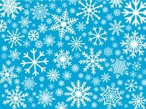 вектор снежинок иллюстрации декоративной конструкции предпосылки графический Стоковое фото RF