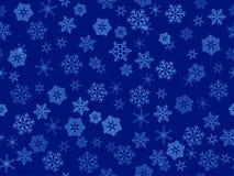 вектор снежинок прозрачный Стоковые Фотографии RF