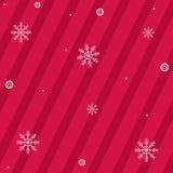 вектор снежинок рождества предпосылки Стоковое Изображение RF