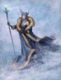 вектор снежка ферзя иллюстрации Стоковая Фотография