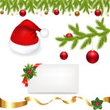 вектор собрания рождества Стоковая Фотография
