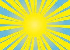 вектор солнца изображения Стоковые Изображения RF