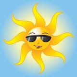 вектор солнца лета eps Стоковые Изображения RF