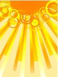 вектор солнца Стоковая Фотография RF