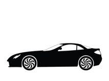 вектор спорта 5 автомобилей Стоковое Изображение RF
