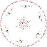 вектор тахты цветка halic Стоковая Фотография
