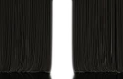 вектор театра занавеса красный Стоковое Изображение RF