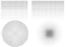 вектор текста космоса логоса иллюстрации halftone предпосылки Стоковые Фотографии RF