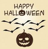 вектор текста места halloween знамени ваш Стоковое Фото