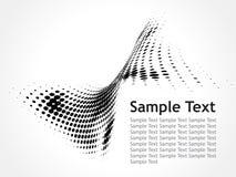 вектор текста образца иллюстрации halftone Стоковая Фотография RF