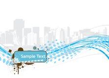 вектор текста образца иллюстрации halftone Стоковое Изображение RF