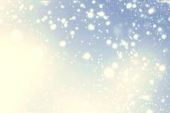 вектор текста v 8 абстрактный дополнительный снежинок места формы eps рождества предпосылки Стоковое Фото