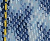 вектор текстуры голубых джинсов безшовный Стоковая Фотография RF