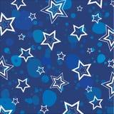 вектор текстуры звезд Стоковое Изображение RF