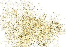 Вектор текстуры яркого блеска золота Стоковые Фото