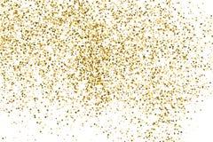 Вектор текстуры яркого блеска золота Стоковые Изображения RF