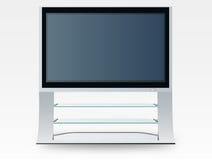 вектор телевидения плазмы Стоковое Изображение RF