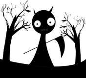 Вектор темноты дьявола Стоковые Фото