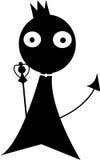 Вектор темноты дьявола Стоковое фото RF