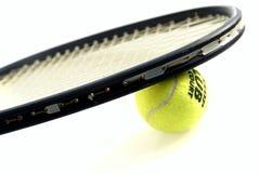 вектор тенниса ракетки иллюстрации шарика Стоковые Фотографии RF