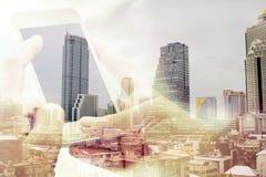 вектор технологии связи изолированный иллюстрацией стоковое фото