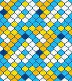 вектор типа востоковедной картины искусства безшовный Яркие цветы Стоковая Фотография RF