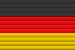 вектор типа Германии имеющегося флага стеклянный также вектор иллюстрации притяжки corel бесплатная иллюстрация