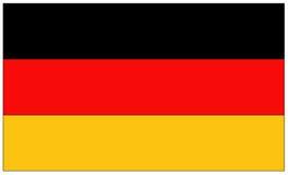 вектор типа Германии имеющегося флага стеклянный Стоковые Фото