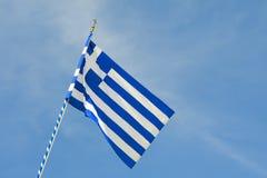 вектор типа Греции имеющегося флага стеклянный стоковые изображения rf