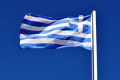 вектор типа Греции имеющегося флага стеклянный стоковые фото