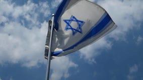 вектор типа Израиля имеющегося флага стеклянный видеоматериал