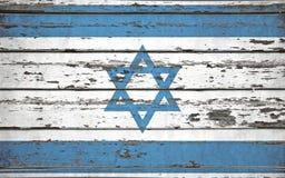 вектор типа Израиля имеющегося флага стеклянный стоковые фотографии rf