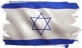 вектор типа Израиля имеющегося флага стеклянный бесплатная иллюстрация