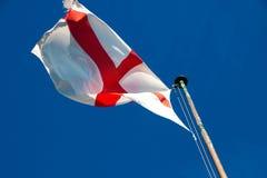 вектор типа имеющегося флага Англии стеклянный стоковые фото