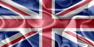 вектор типа имеющегося флага Англии стеклянный Стоковые Фотографии RF