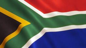 вектор типа имеющегося флага Африки стеклянный южный Стоковые Изображения