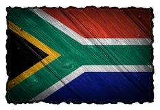 вектор типа имеющегося флага Африки стеклянный южный Стоковая Фотография