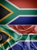 вектор типа имеющегося флага Африки стеклянный южный Стоковое фото RF