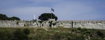 вектор типа имеющегося флага Кубы стеклянный Стоковые Изображения