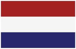 вектор типа имеющегося флага стеклянный нидерландский Стоковое Фото