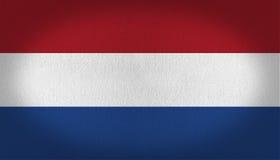 вектор типа имеющегося флага стеклянный нидерландский Стоковое фото RF