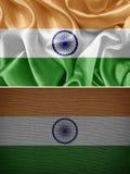 вектор типа Индии имеющегося флага стеклянный Стоковые Фото