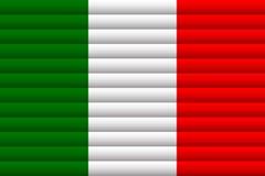 вектор типа Италии имеющегося флага стеклянный также вектор иллюстрации притяжки corel бесплатная иллюстрация