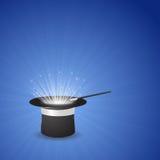 вектор типа иллюстрации иконы шлема волшебный Стоковое Изображение RF