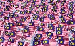 вектор типа Малайзии имеющегося флага стеклянный Стоковые Фото