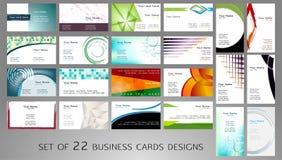 вектор типа логоса иллюстрации визитных карточек corporative Стоковое Изображение RF